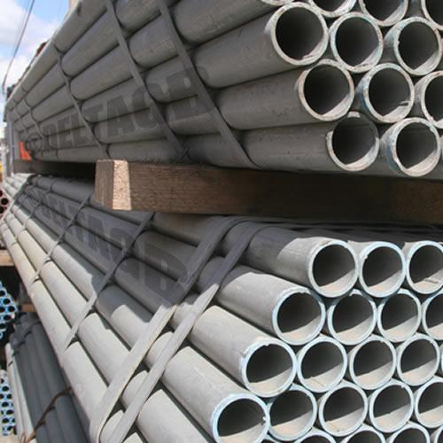 Scaffolding Tube (Galvanised Steel) - 4mm x 48.3mm o/d x 2.4m (8ft)