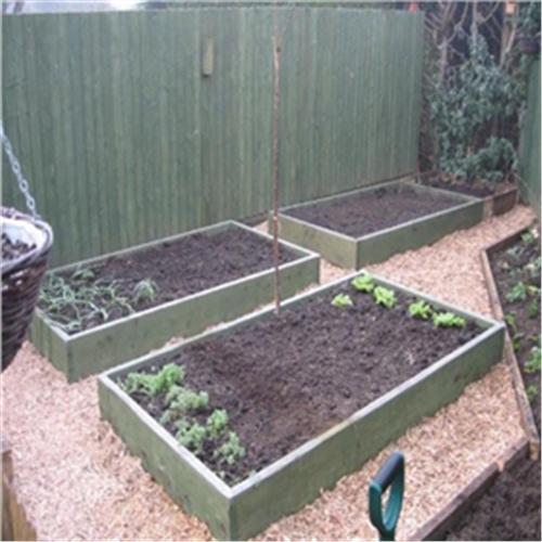 Raised garden beds 8ft x 4ft tanalised timber - Pressure treated wood for garden beds ...