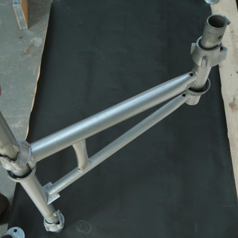 Cuplock Cup Top : Cuplock scaffolding system board hop up bracket