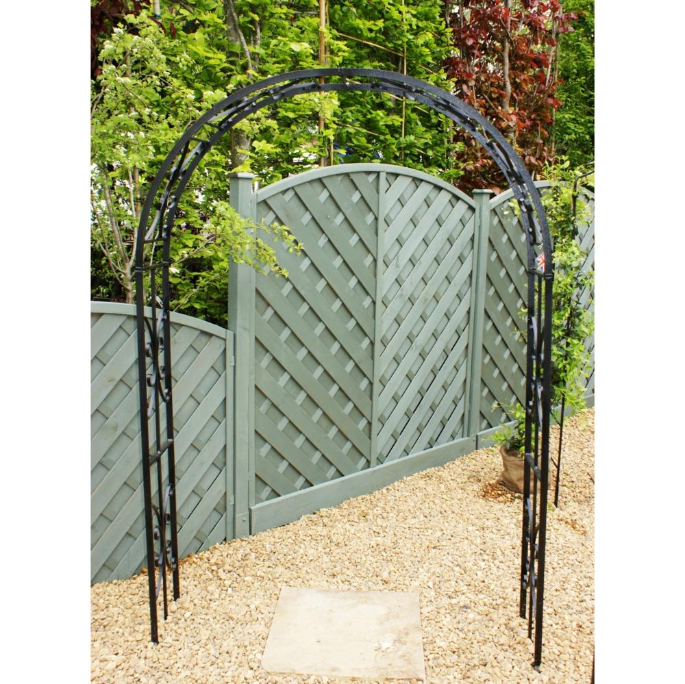 Rose Arch Rustic Garden Arch Metal Garden Arch Steel Garden