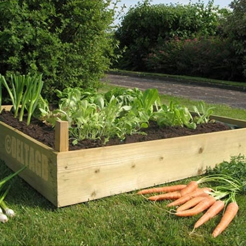 Raised Garden Beds Untreated Timber