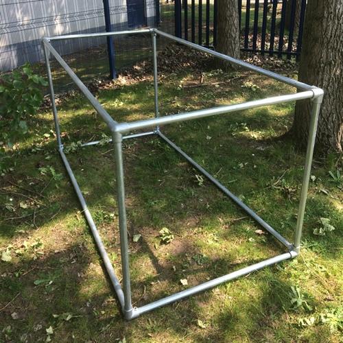 fruit cage kit 1m x 2m x 1m. Black Bedroom Furniture Sets. Home Design Ideas