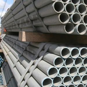 Steel Scaffolding Tubing - 4mm x 48.3mm o/d x 1.8m (6ft) Galvanised
