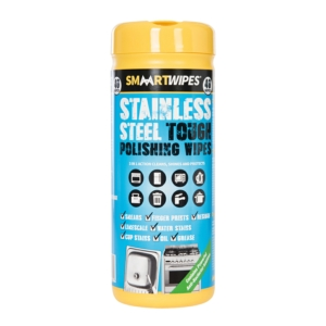 Stainless Steel Tough Polishing Wipes 40pk
