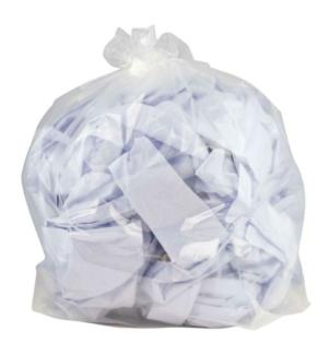 100 Heavy Duty Clear Refuse Sacks - Bin Bags