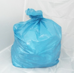 200 Medium Duty Blue Refuse Sacks - Bin Bags