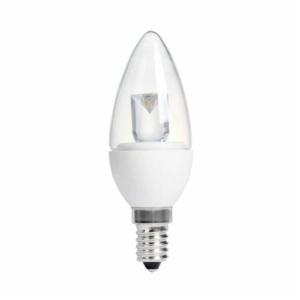 CANDLE CLEAR 4W (20W) SES (E14) 200 Lumens Warm White LED Light Bulb