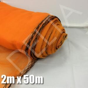 Debris Netting - 2m x 50m Orange