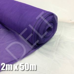Debris Netting - 2M x 50M - Purple