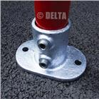 Railing Base Flange 132-C (42.4mm)