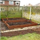 Raised Garden Beds Untreated Timber - 3.0m (10ft) x 3.0m (10ft)